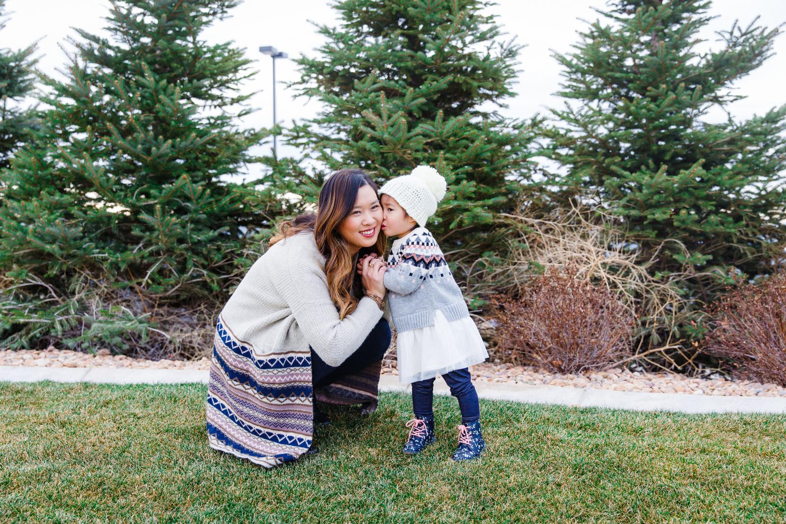 Mommy and Me Fair Isle