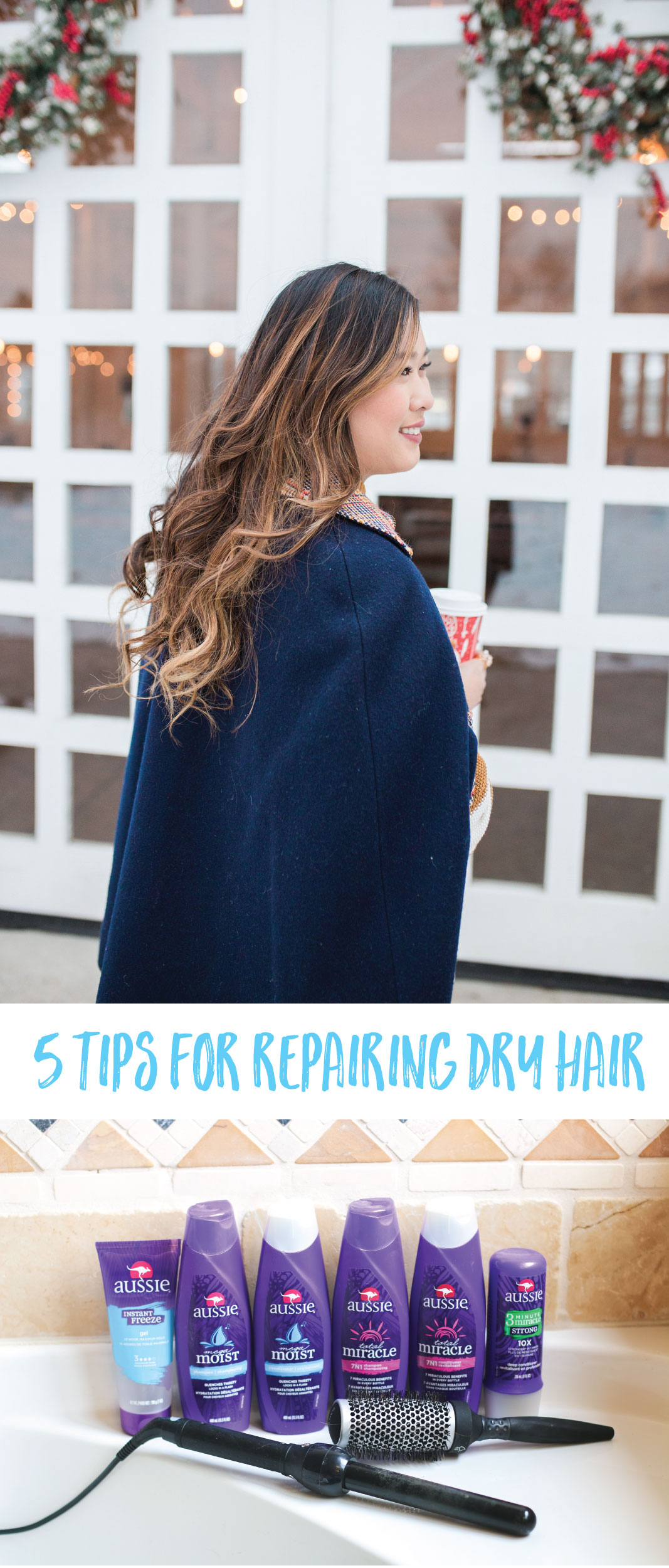 5 Tips For Repairing Dry Hair