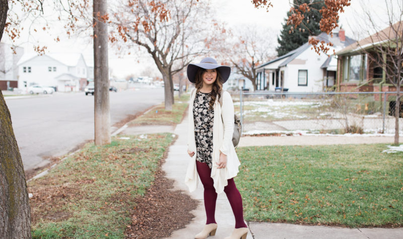 Short Rompers For Winter Fashion and Stylish Mules + $100 Payless Shoes Giveaway!