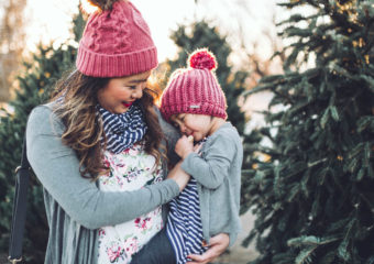 Mommy and Me Style: UV Protective Clothing + Pom Pom Beanies + $100 Shedo Lane Giveaway!