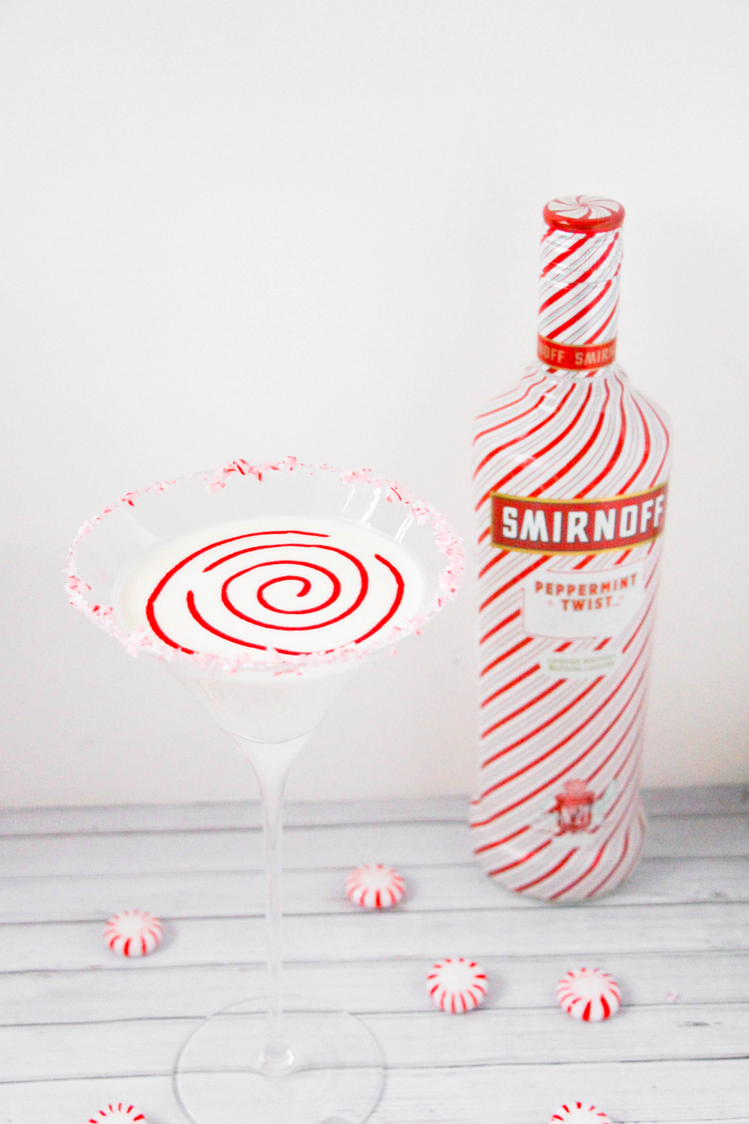 Candy Cane Martini Recipe