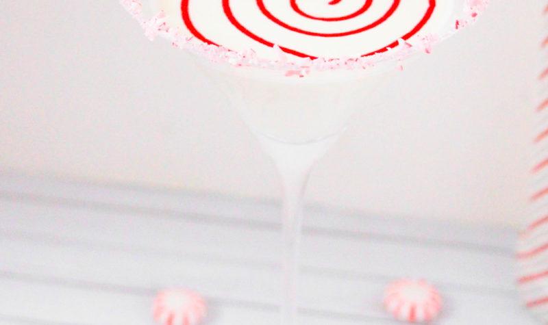 Candy Cane Martini