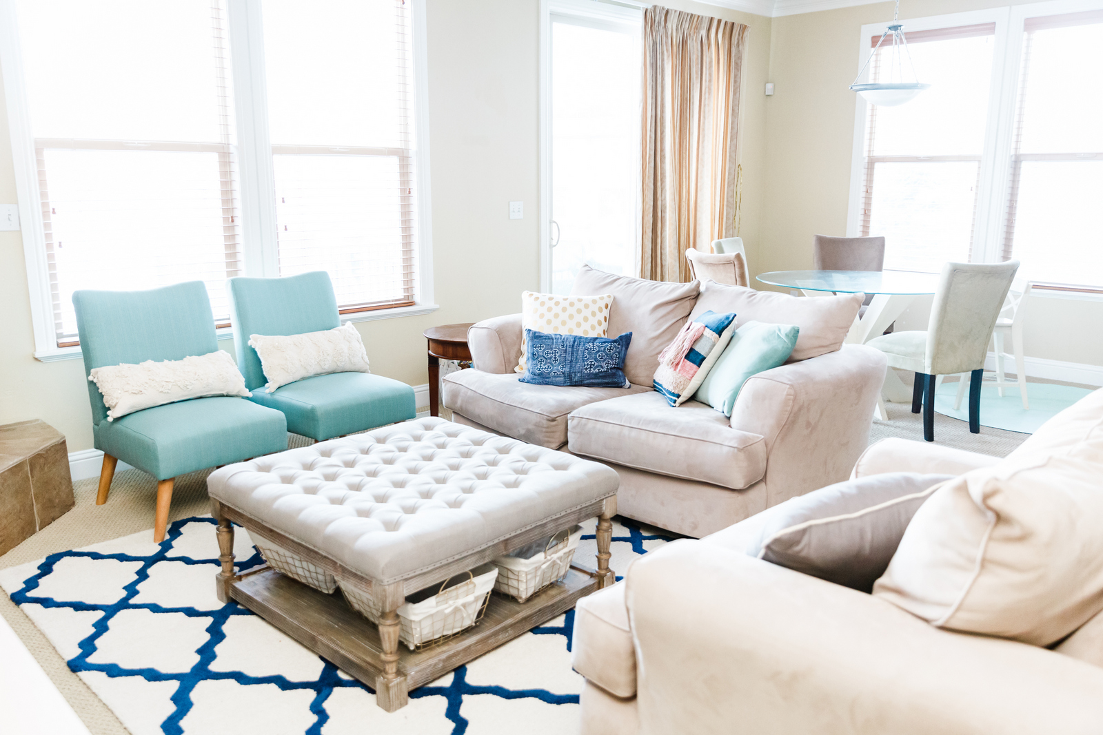 Living Room Update With Kohl S Accent Chairs
