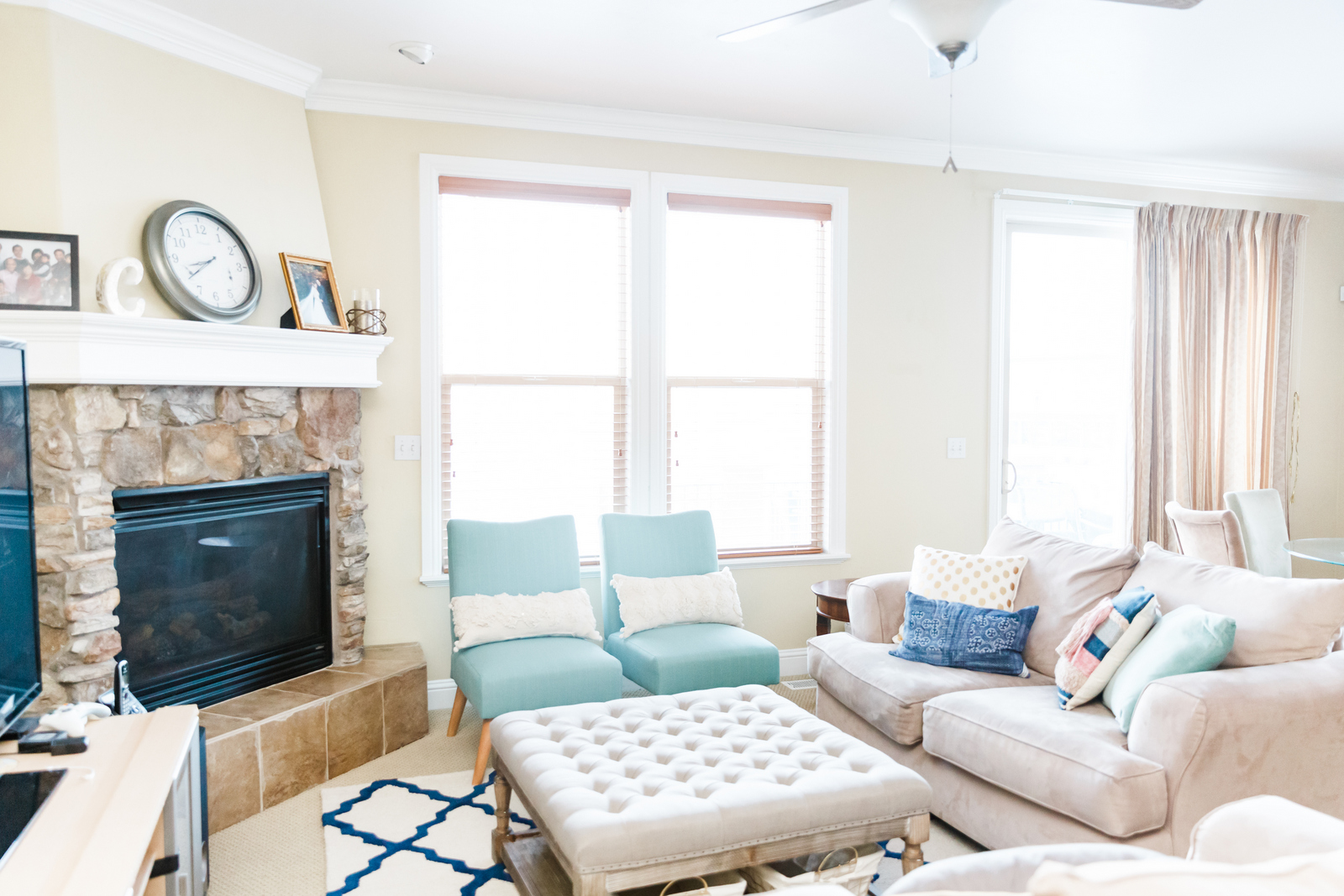 Living Room Update with Kohl's Accent Chairs