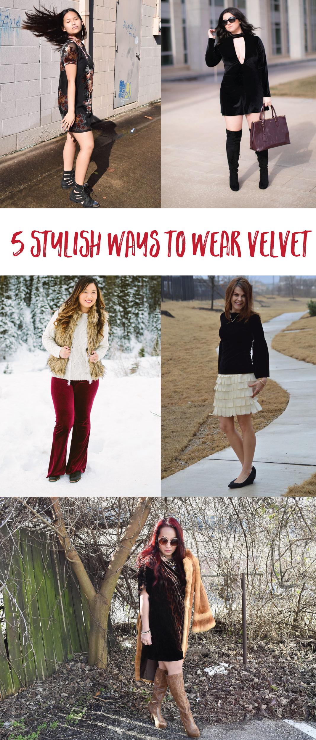 5 Stylish Ways To Wear Velvet