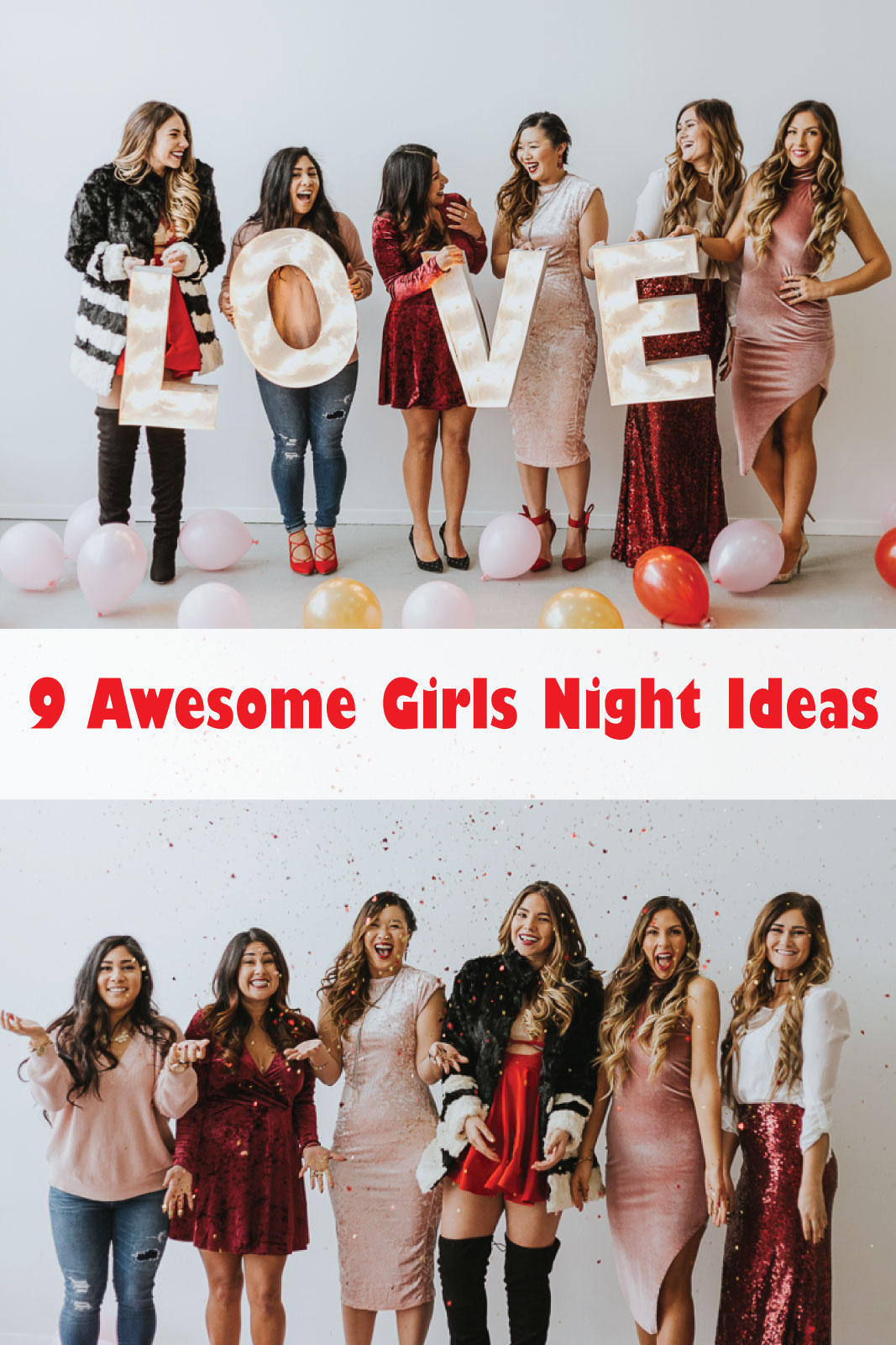 9 Awesome Girls Night Ideas