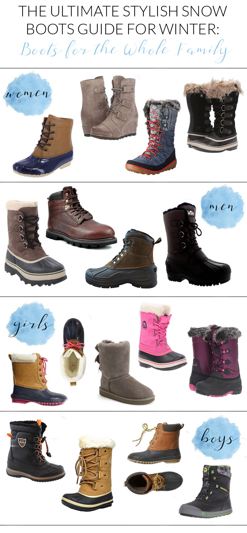 Stylish Snow Boots Guide For Winter
