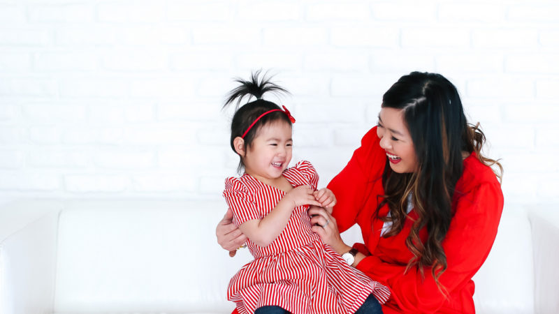 Mommy and Me Style: Valentine's Day Outfit Ideas + Linkup!