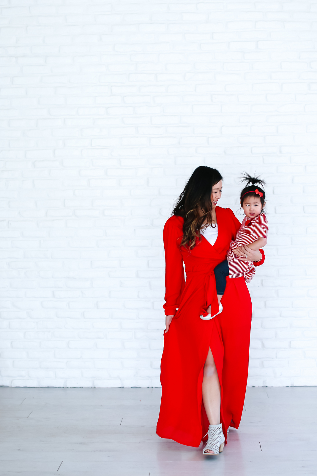 Mommy and Me Valentine's outfit