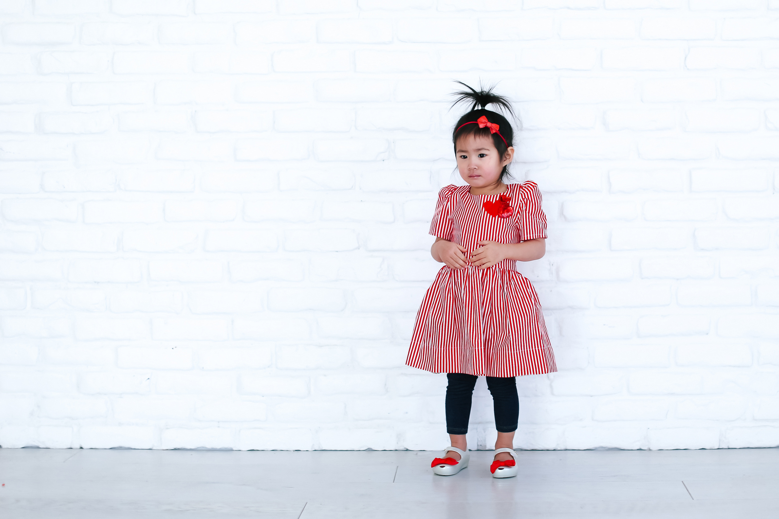 Toddler Valentine's Dress from Chloe Kristyn