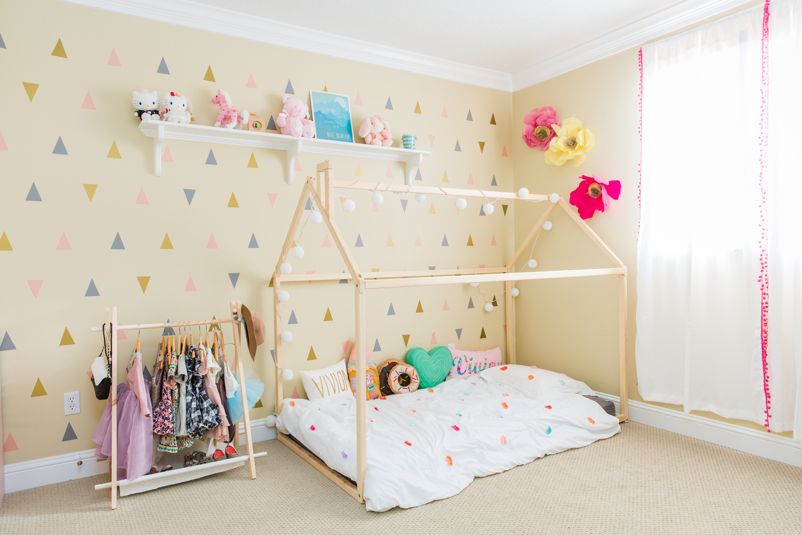 Little Girls Bedroom Ideas | Vivian\'s Bedroom Reveal | Sandy ...