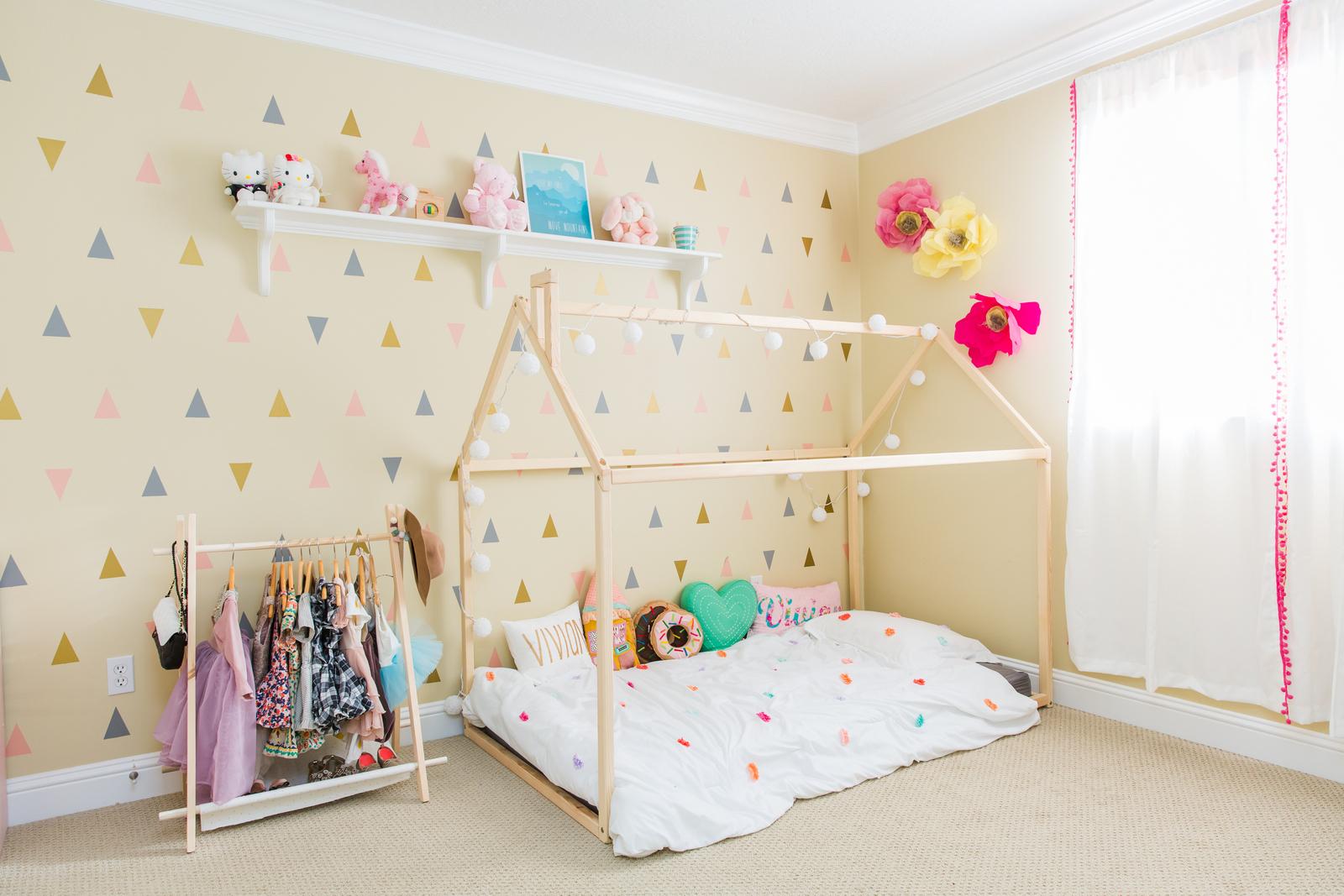 Little Girls Bedroom Ideas | Vivian\'s Bedroom Reveal | Sandy ...