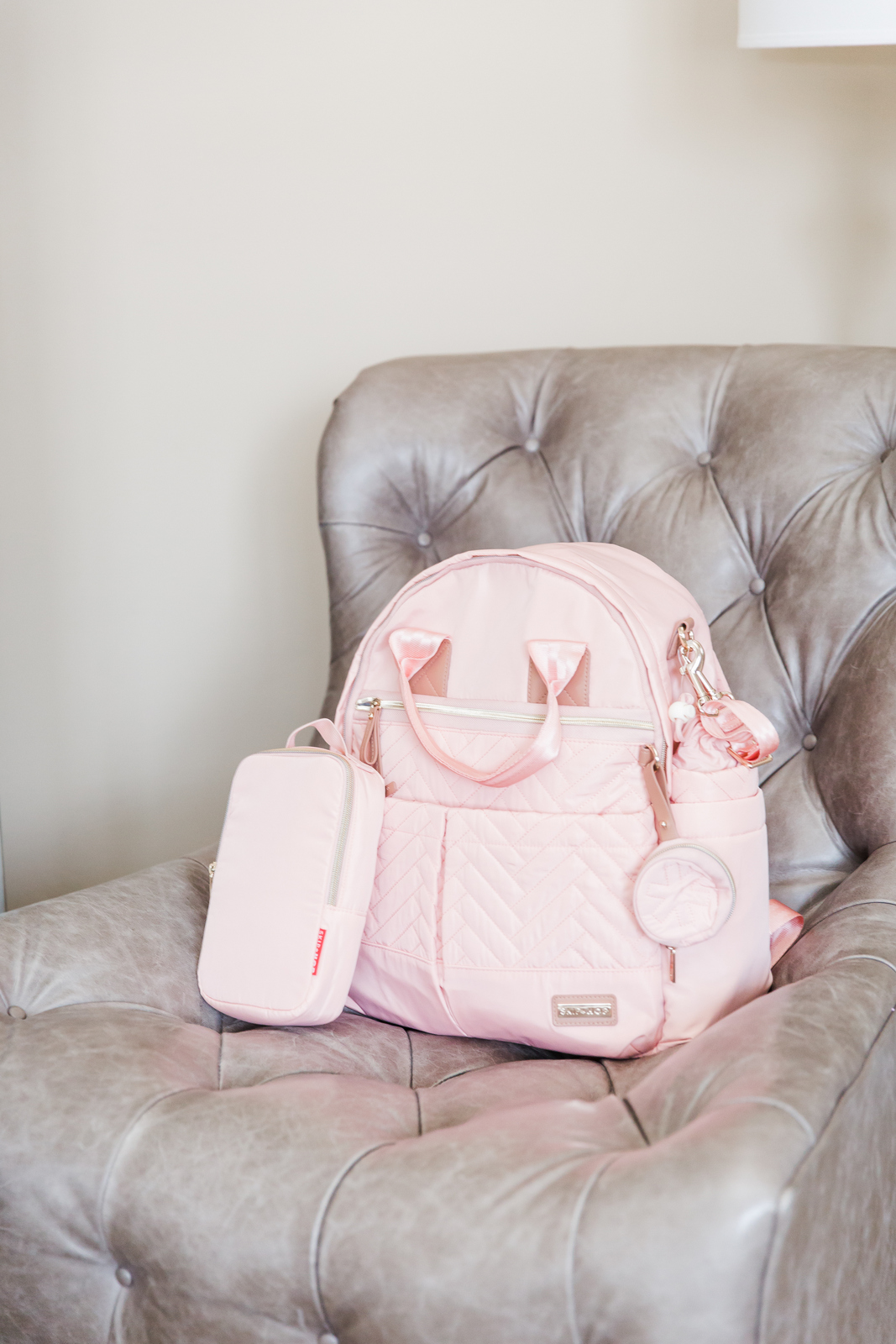 Skip Hop Suite Designer Diaper Bags: the backpack