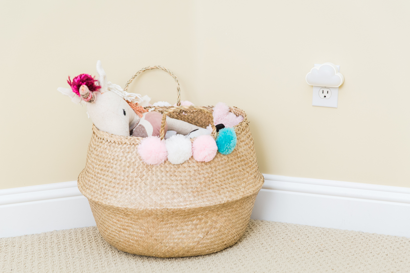 Brickyard Buffalo Guest Editor Week - Sandy A La Mode: Olli Ella Pom Pom Basket