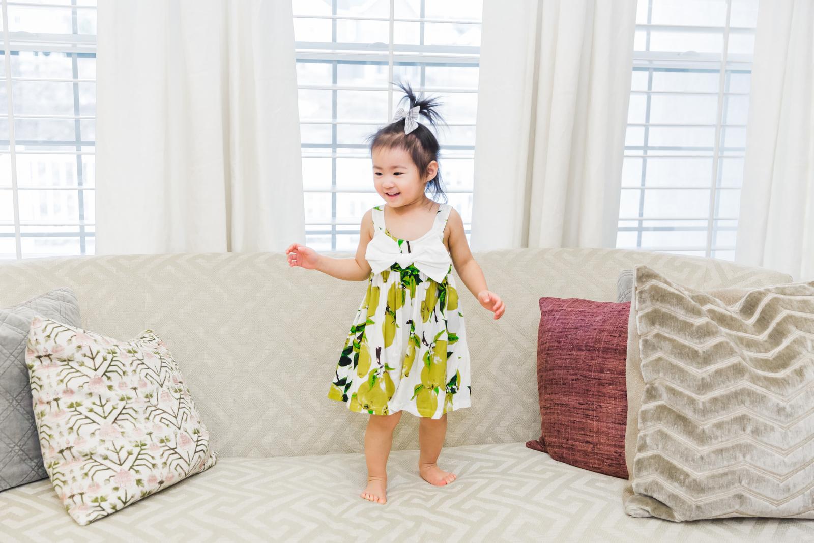 Brickyard Buffalo Guest Editor Week - Sandy A La Mode: Girl's lemon dress