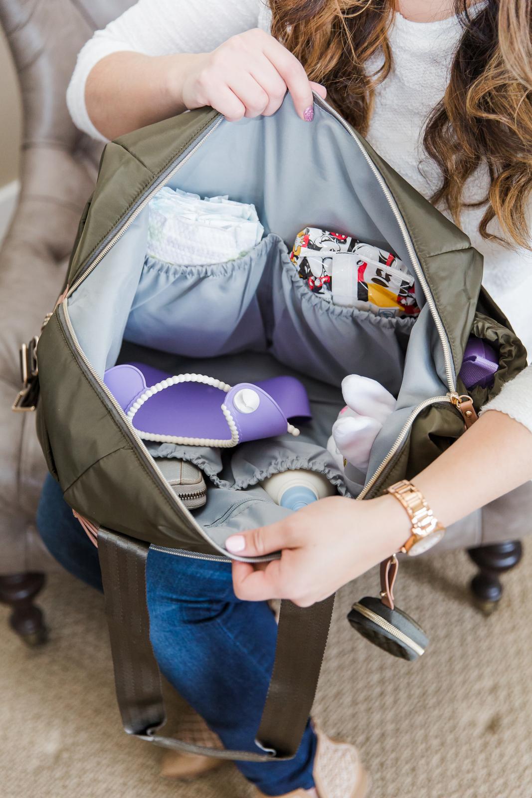Skip Hop Suite Designer Diaper Bags: the tote set