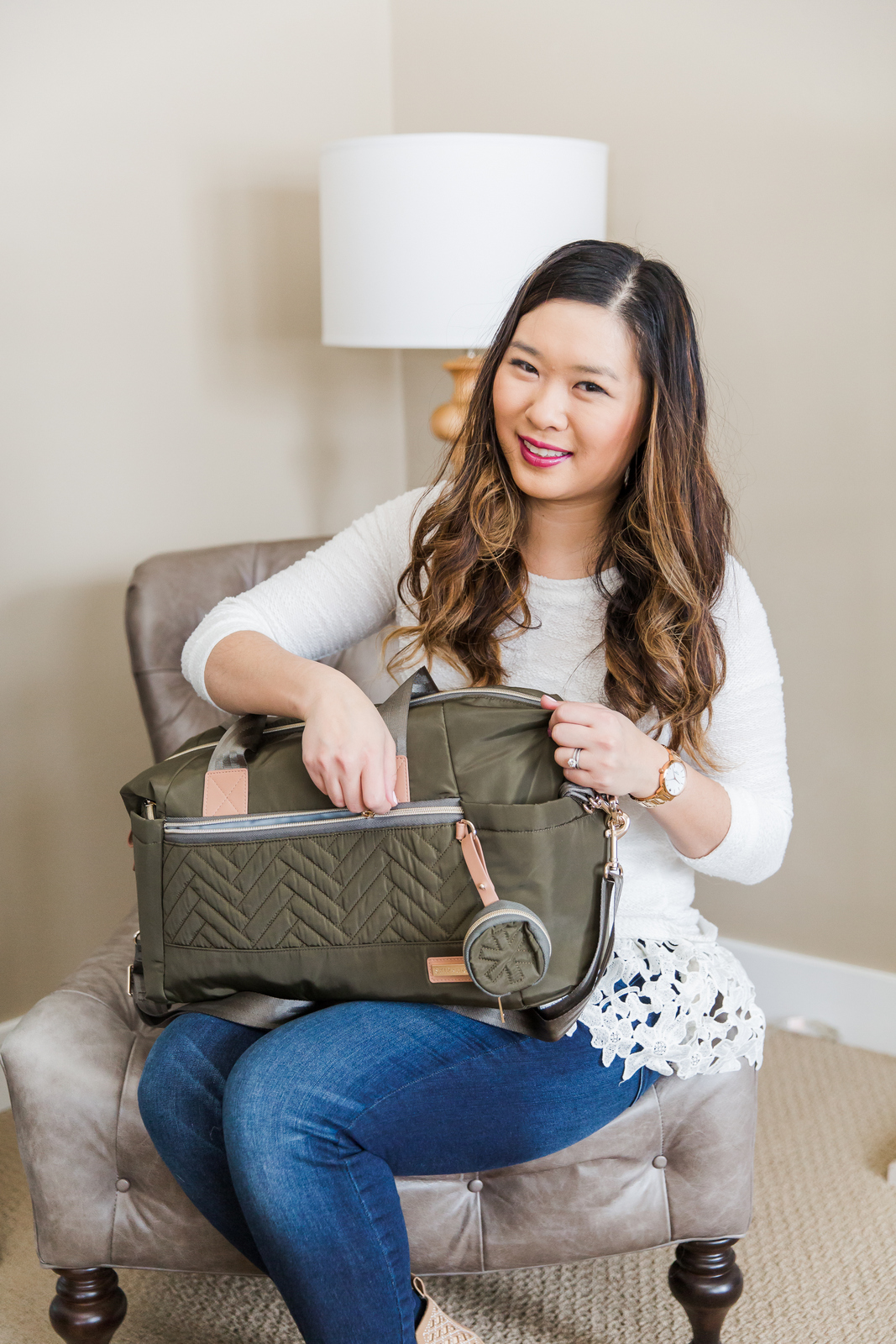 Skip Hop Suite Designer Diaper Bags: the tote set