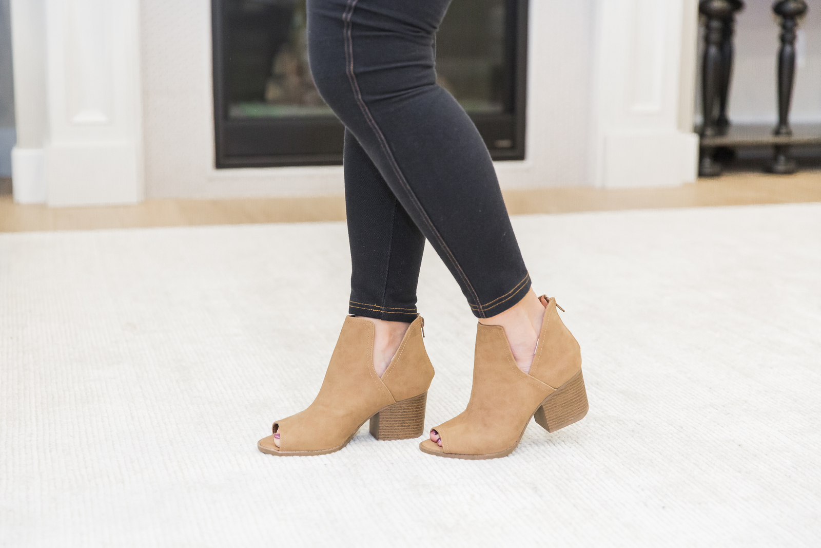 Brickyard Buffalo Guest Editor Week - Sandy A La Mode: Cut out booties
