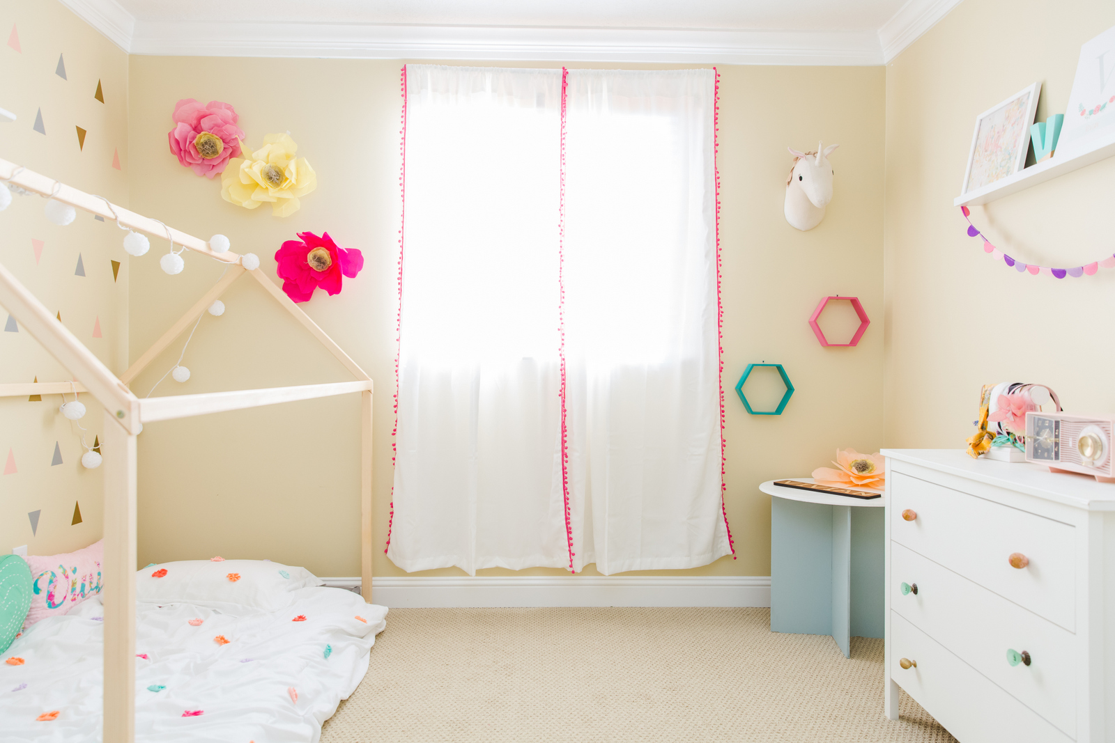 Vivian's Bedroom Reveal: Little Girls Bedroom Ideas You'll Want to Steal