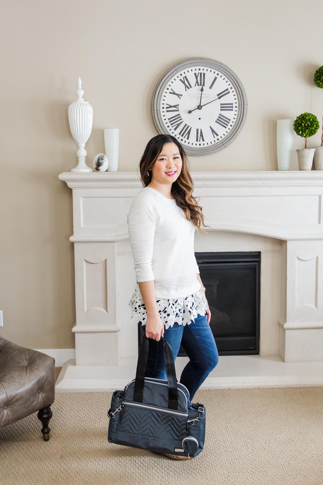 Skip Hop Suite Designer Diaper Bags: the satchel set