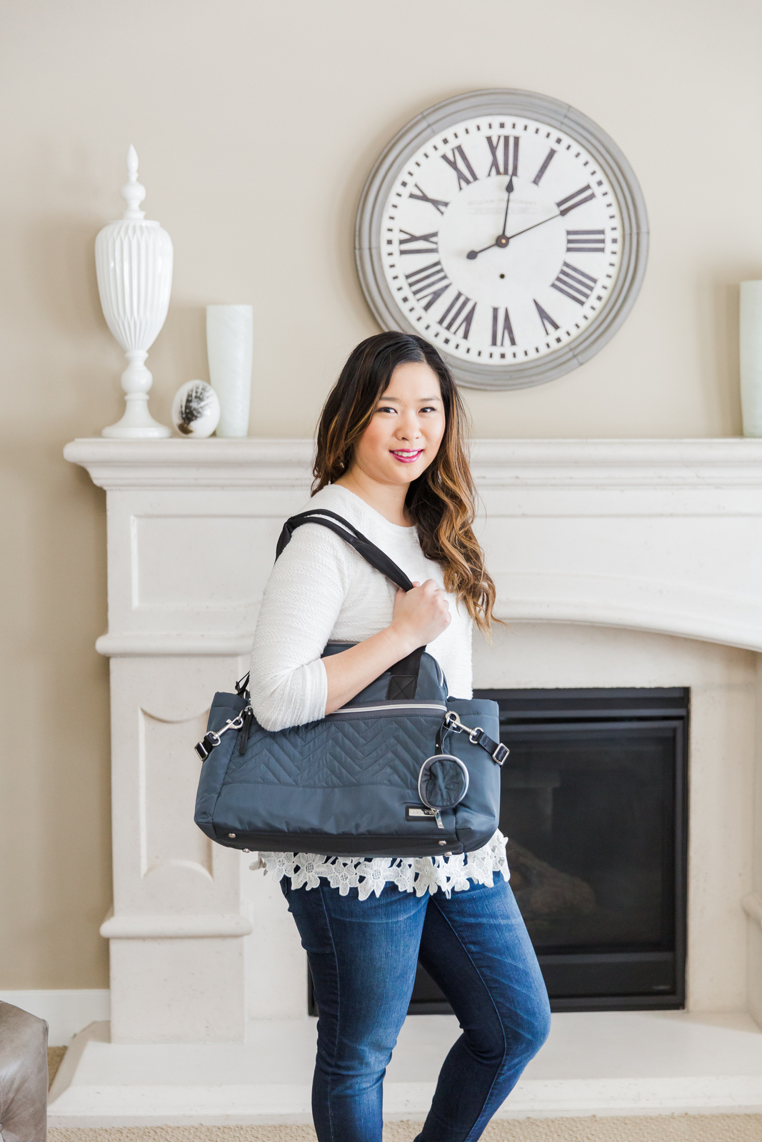 Skip Hop Suite Designer Diaper Bags: the satchel set