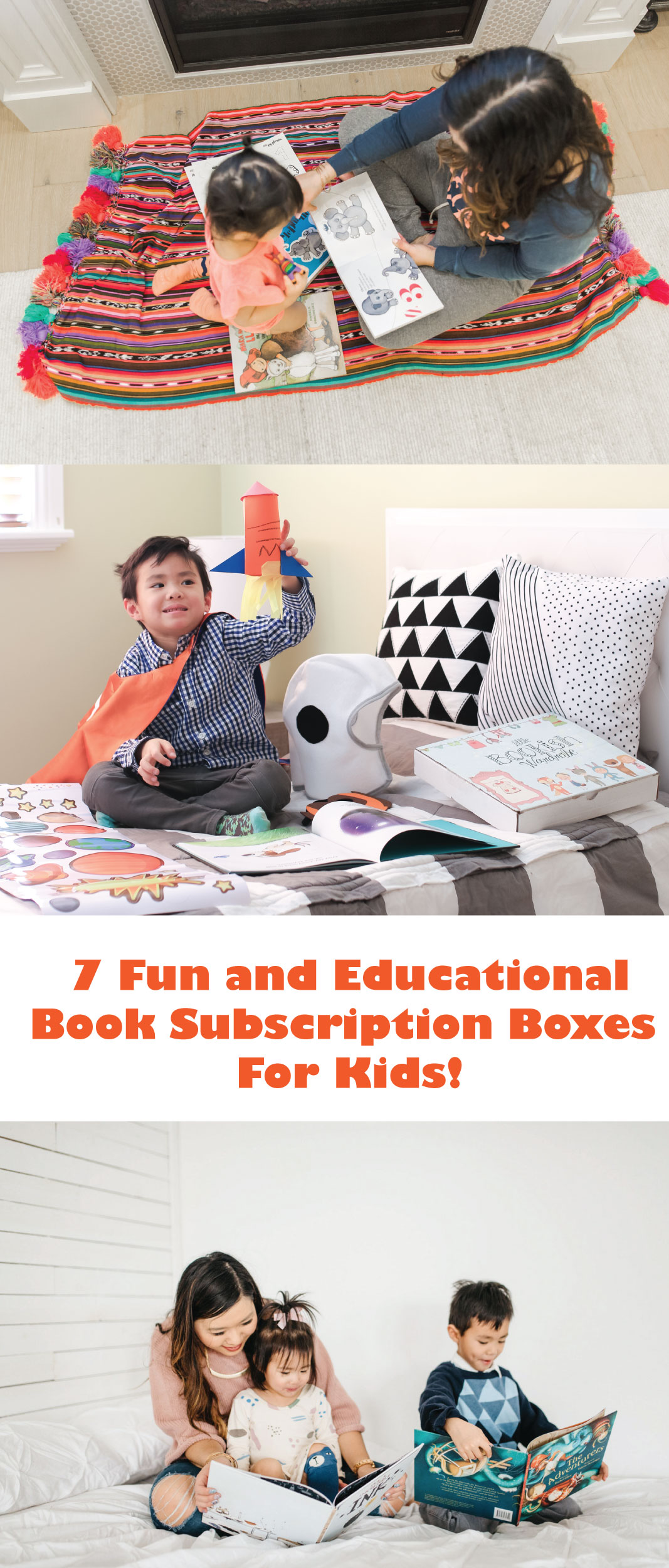 7 Fun and Educational Book Subscription Box for Kids