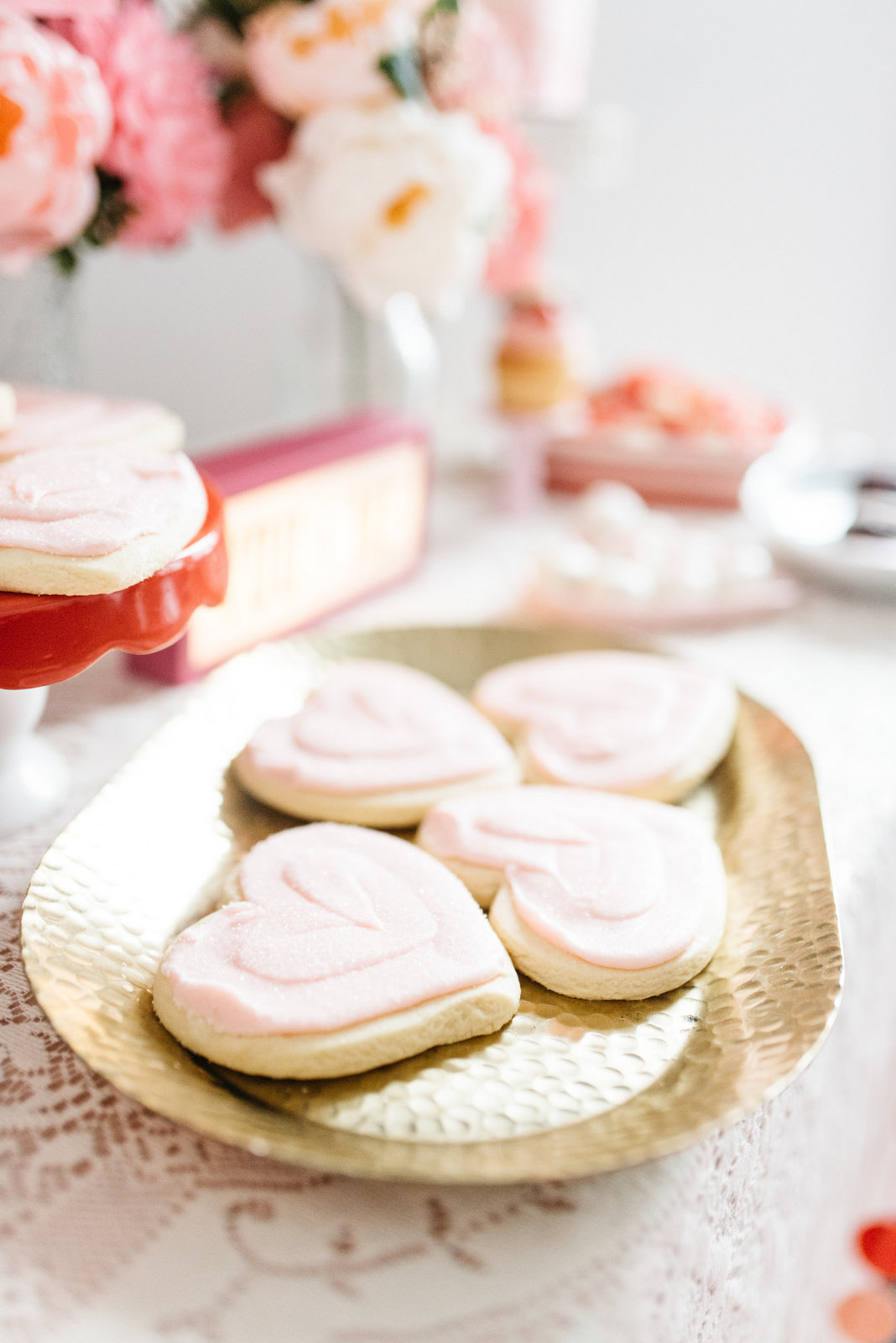 Family Valentine's Day Ideas; Sweet Tooth Fairy Cookies
