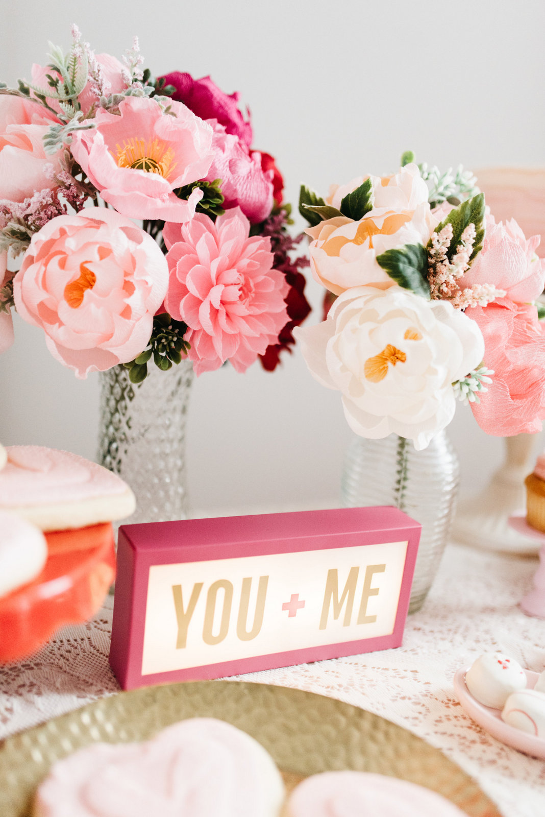 Family Valentine's Day Ideas: The Lovely Ave Paper Flowers