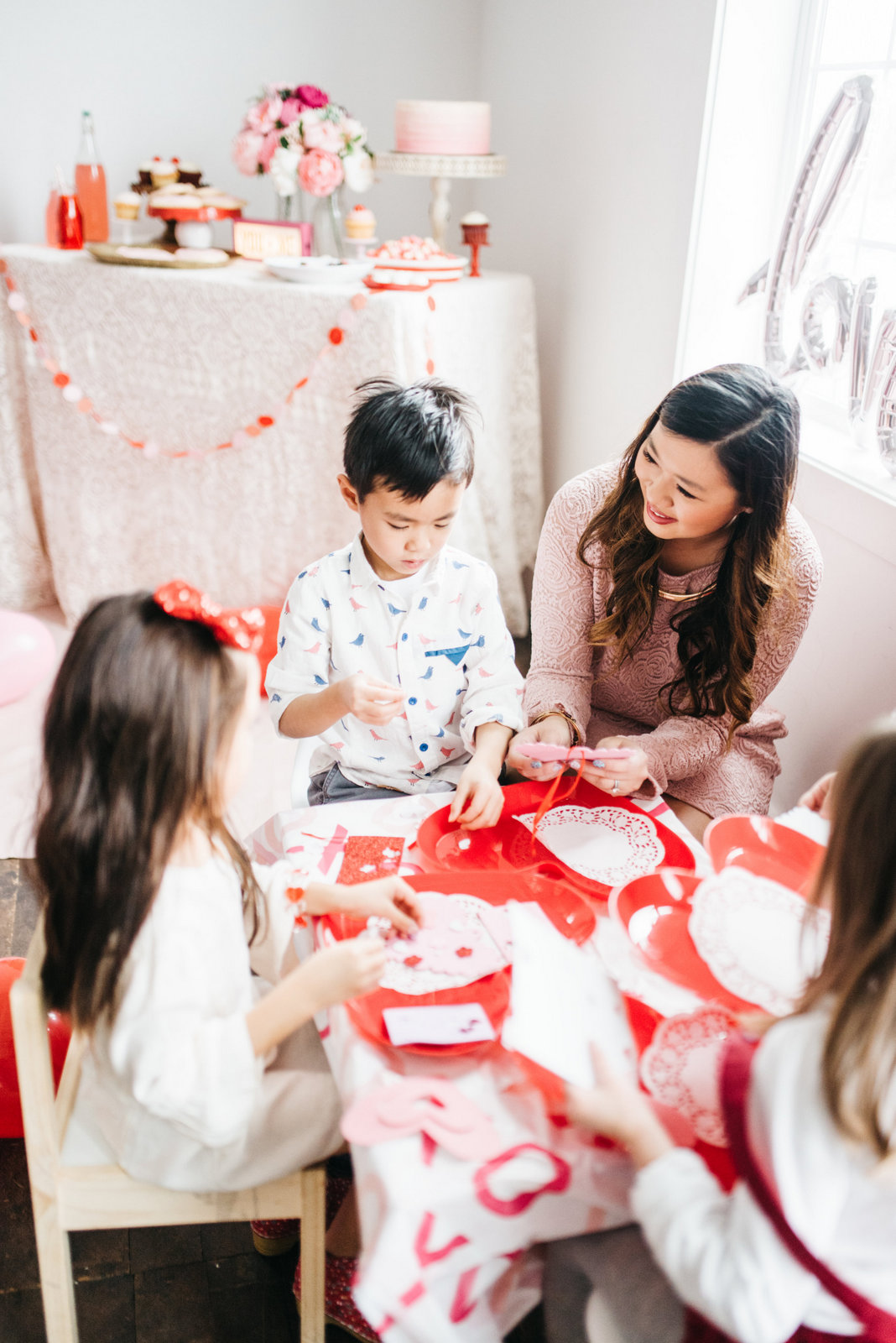 Family Valentine's Day Ideas: Valentines Crafts