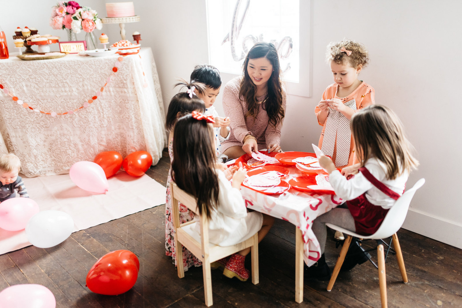 Family Valentine's Party Ideas