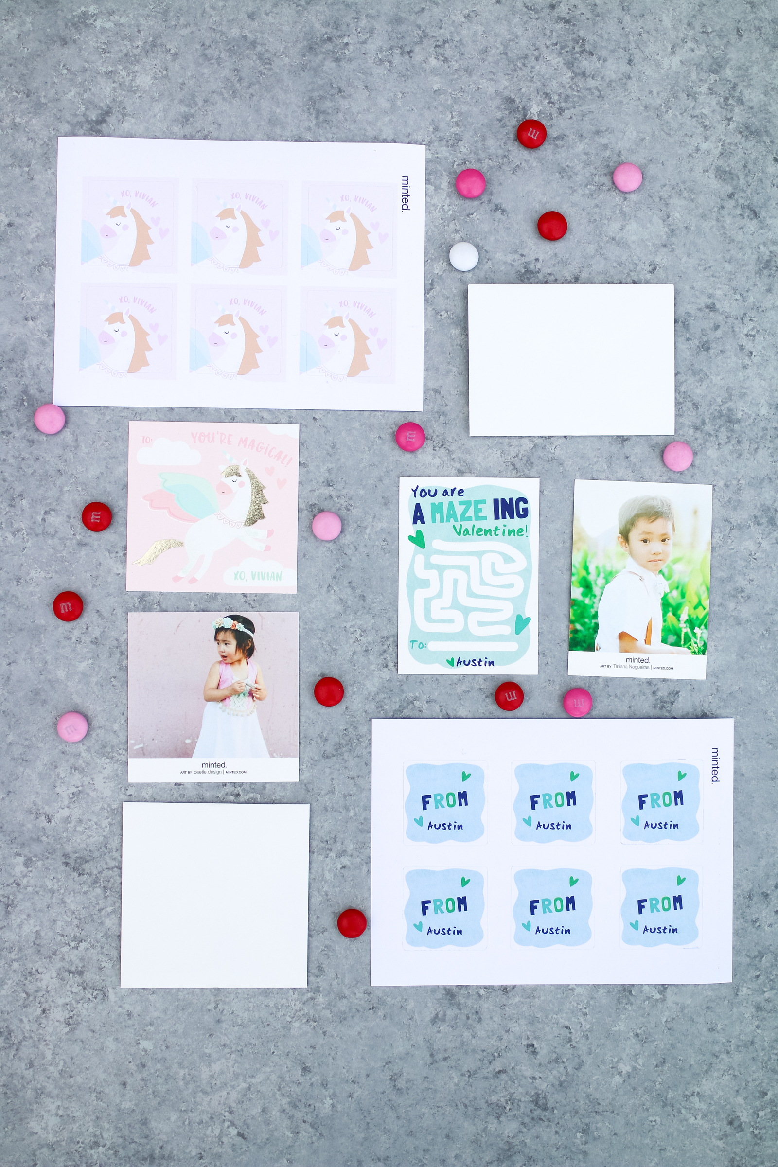Valentines Cards for Kids from Minted