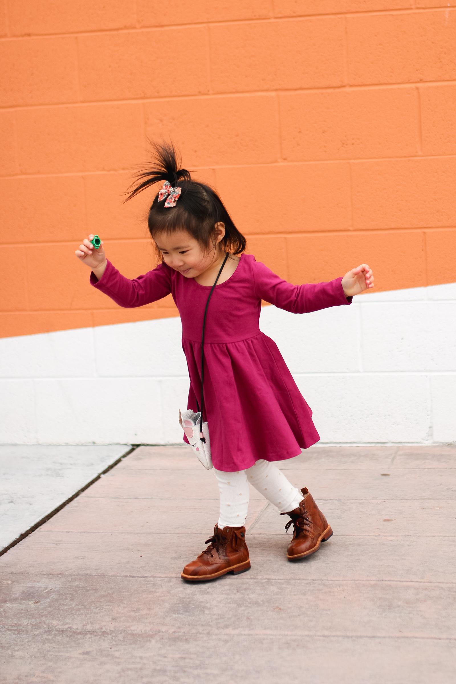 Brickyard Buffalo Guest Editor Week - Sandy A La Mode: Girl's Swing Dress