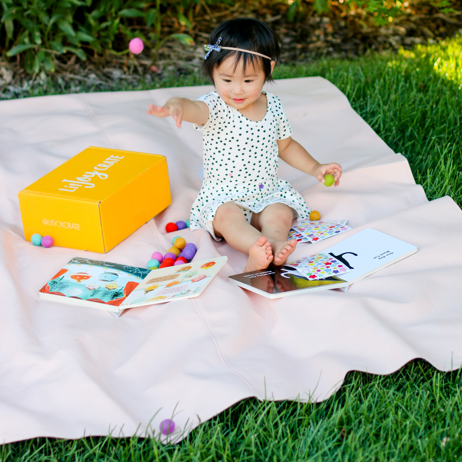 Lit Joy Crate book subscription box for kids