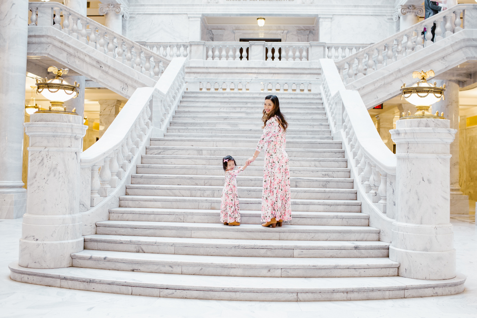 Mommy and Me Outfits: Floral Dresses from Shop Maisie Jayne