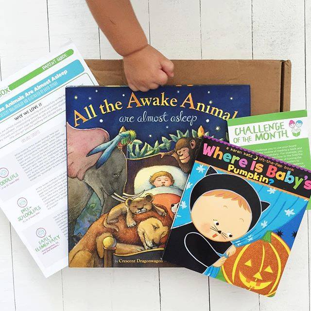 The Story Box: book subscription box for kids