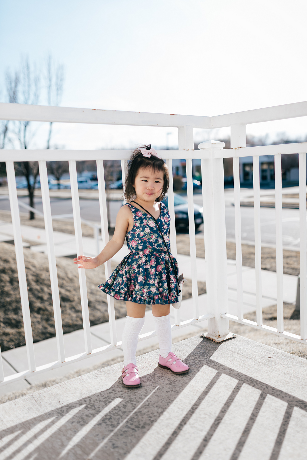 Mommy and Me Outfits: Pretty Easter Dresses by fashion blogger Sandy A La Mode