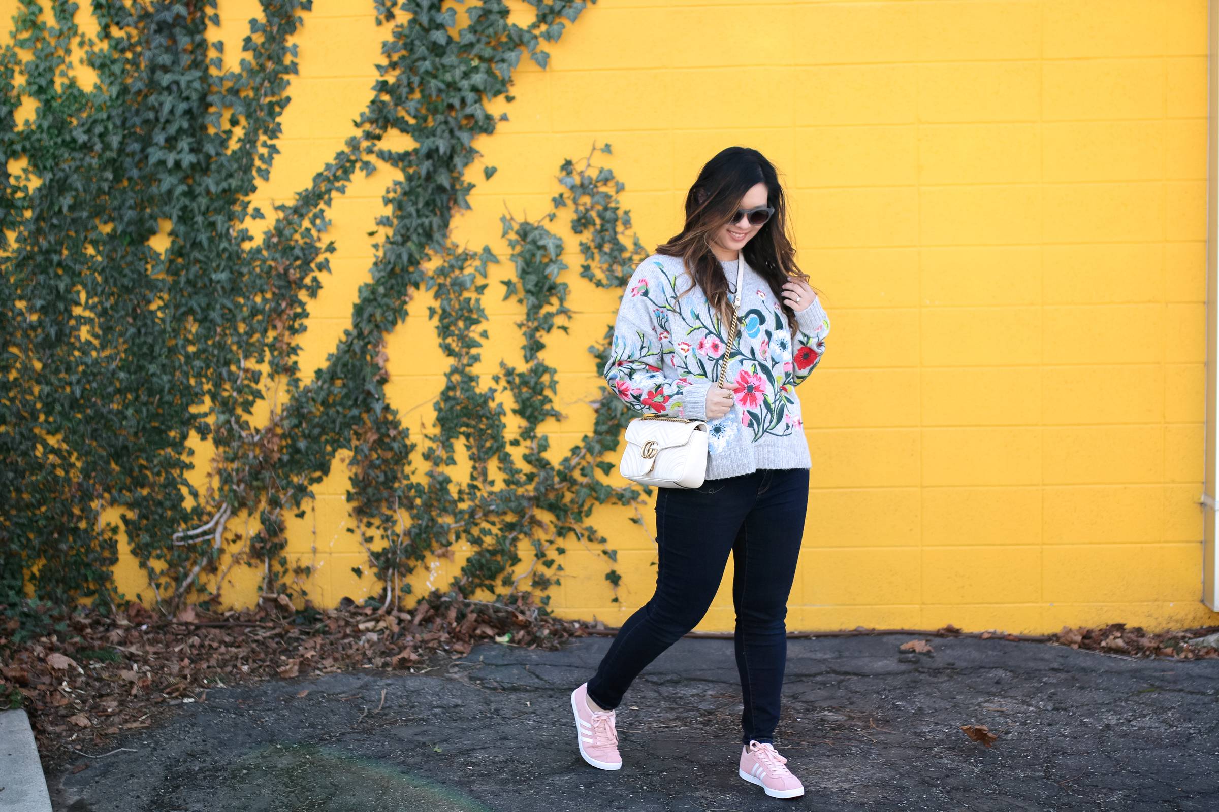 Dressing Up The Perfect Sneakers by Sandy A La Mode: Adidas NEO