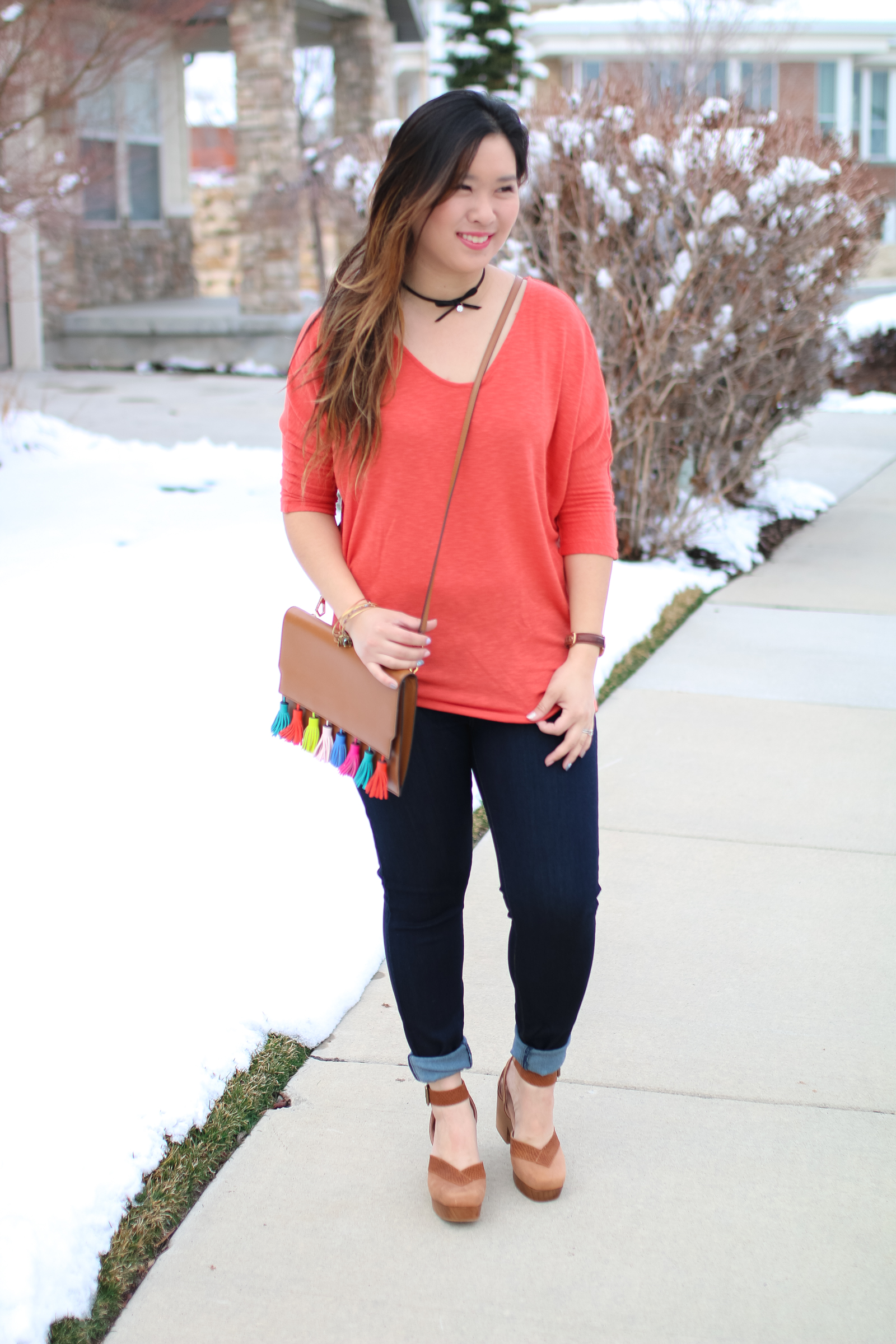 Stitch Fix Review March 2017 - Winter to Spring Transitional Pieces by fashion blogger Sandy A La Mode