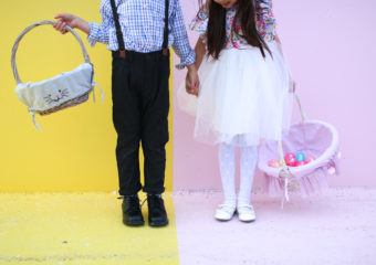 Boy and Girl Easter Fashion