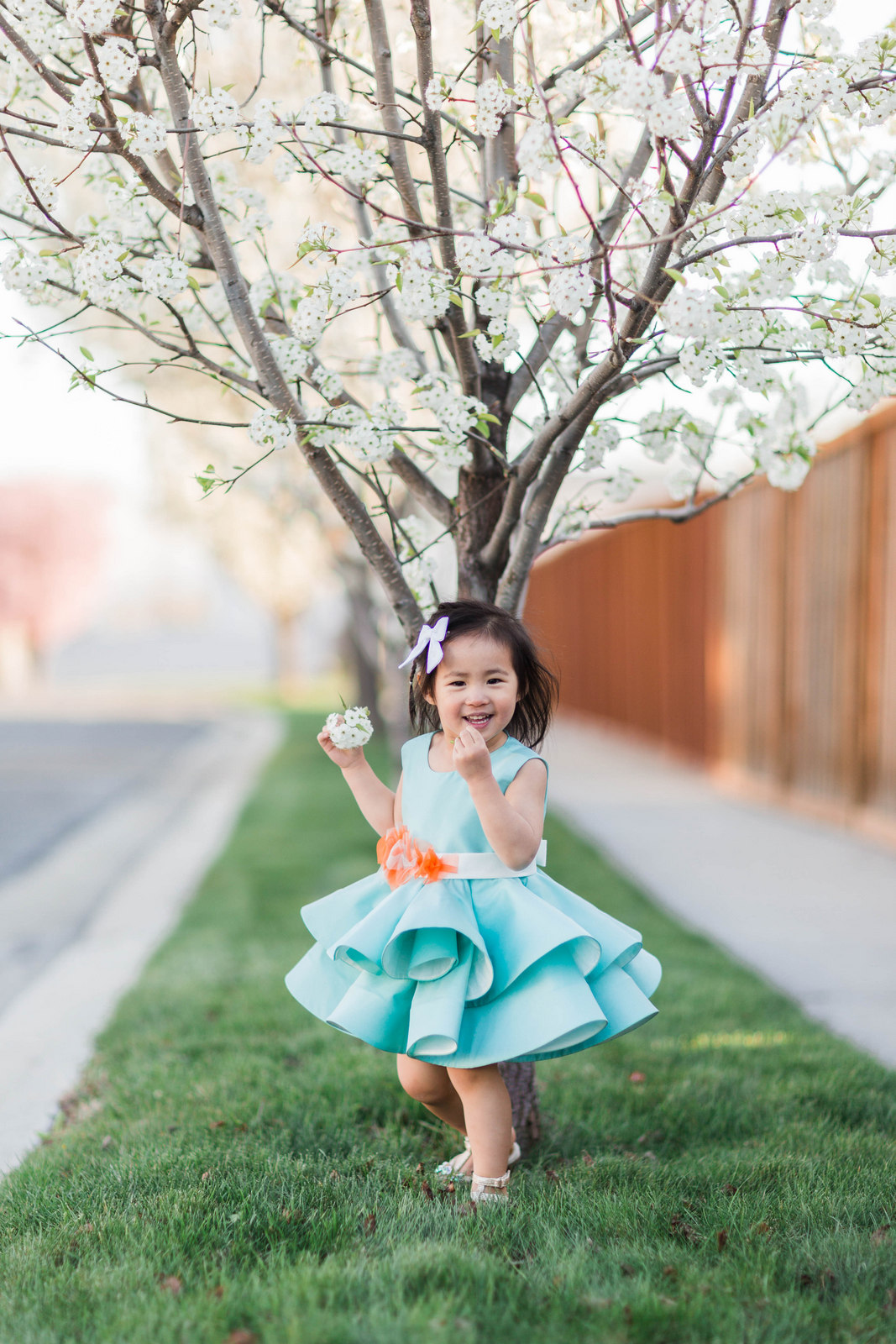 Little Miss Luk Kaylen Dress | 5 Fun Mothers Day Activities Every Mom Will Love by lifestyle blogger Sandy A La Mode