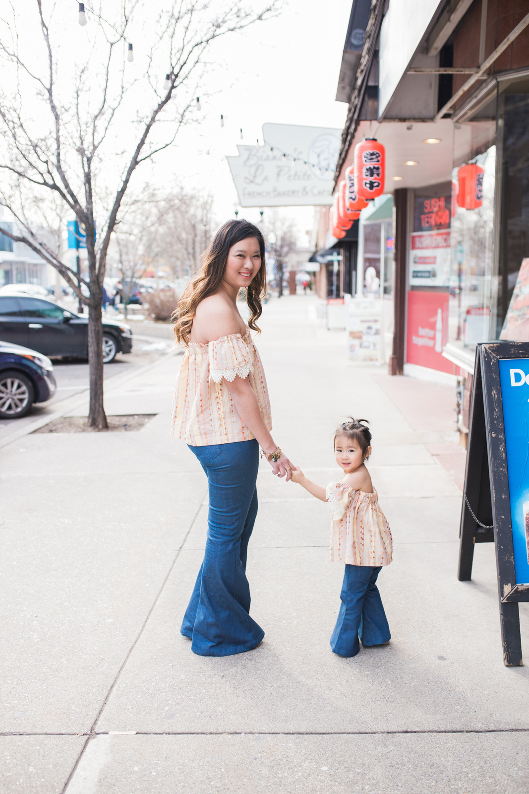 Mommy and Me Outfits: Boho Chic Clothing by fashion blogger Sandy A La Mode