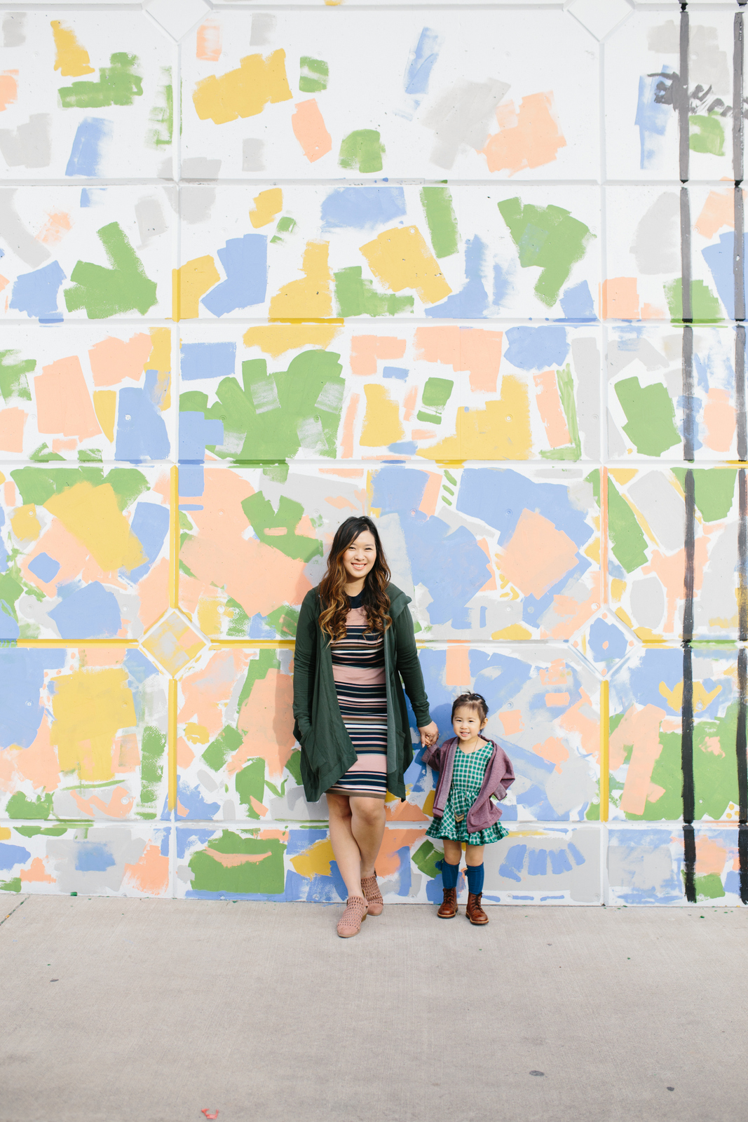 Mommy and Me Outfits: St Patricks Day Green by Fashion blogger Sandy A La Mode