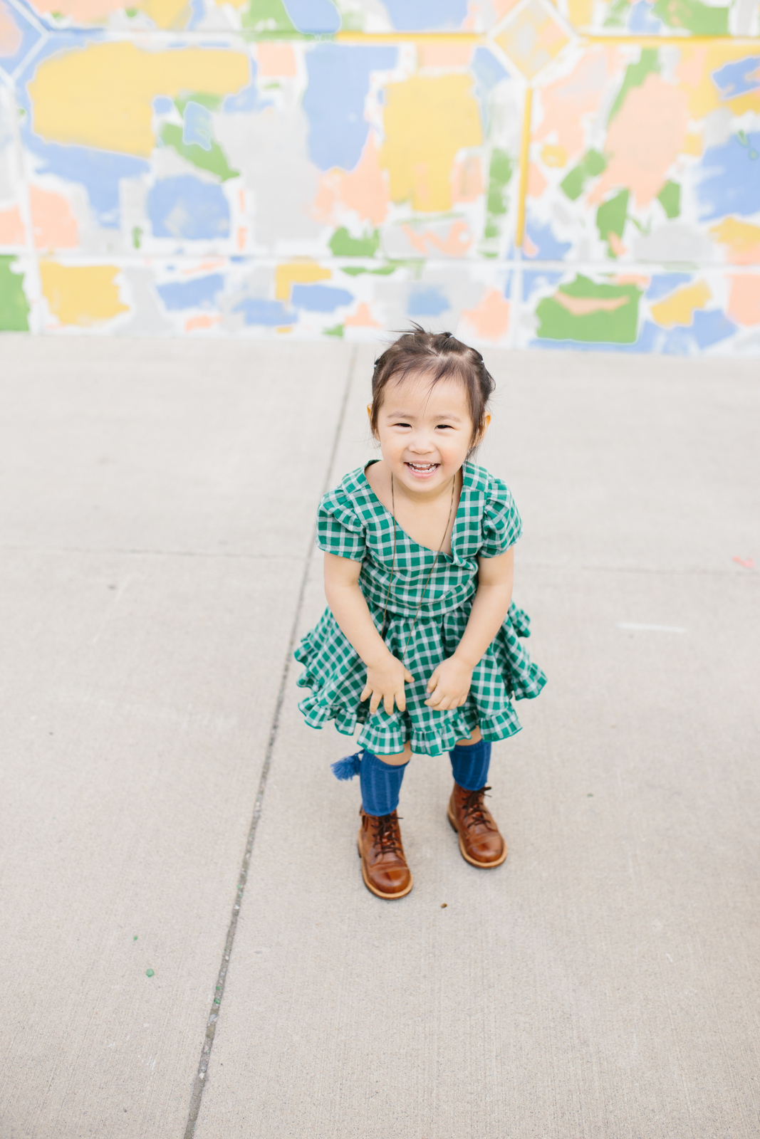 Little Minis Plaid Dress