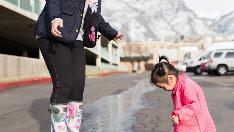 Mommy and Me Outfits: Cute Rain Boots for Spring Showers