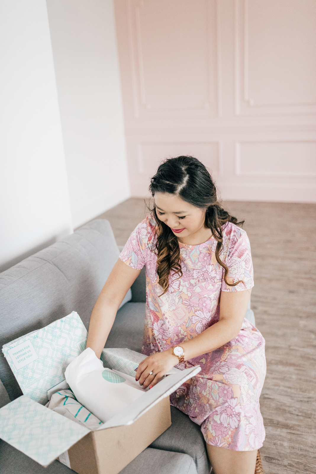 Stitch Fix Review April 2017 - Perfect for Mother's Day by fashion blogger Sandy A La Mode