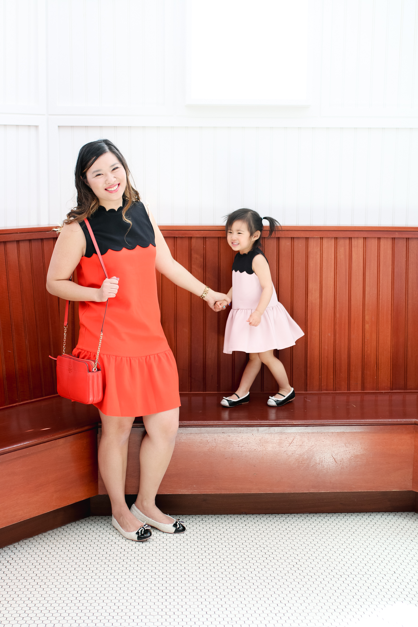 Mommy and Me Outfits from Victoria Beckham Collection for Target by fashion blogger Sandy A La Mode