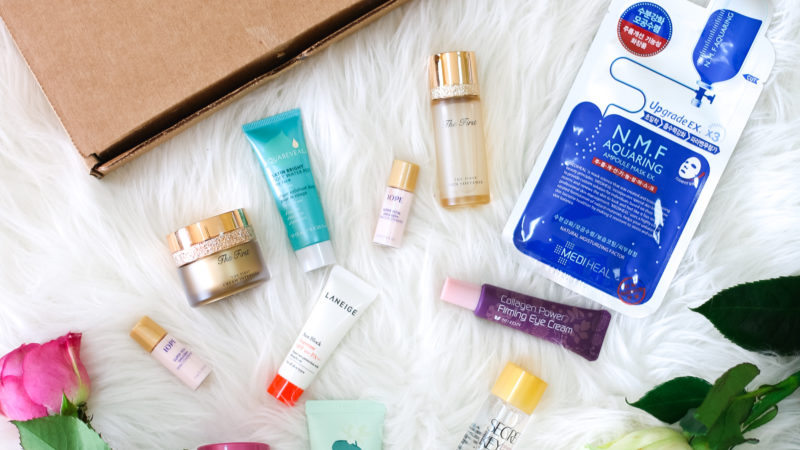 My Skincare Routine With Korean Beauty Products: SKYN BOX Review