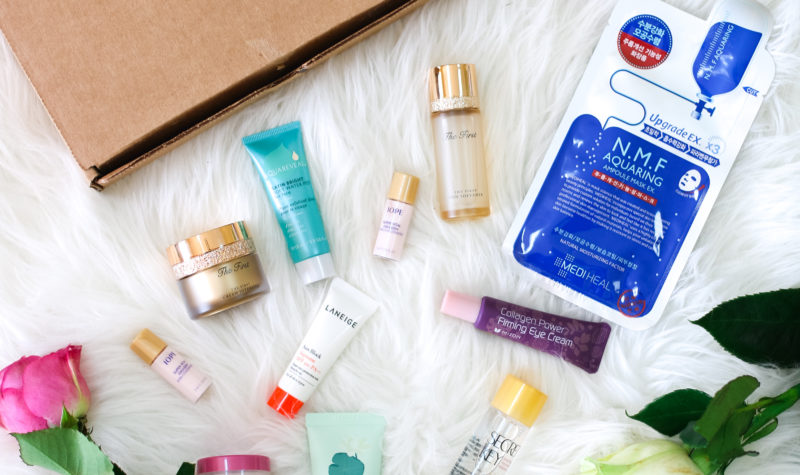My Korean Skincare Routine: SKYN BOX Review