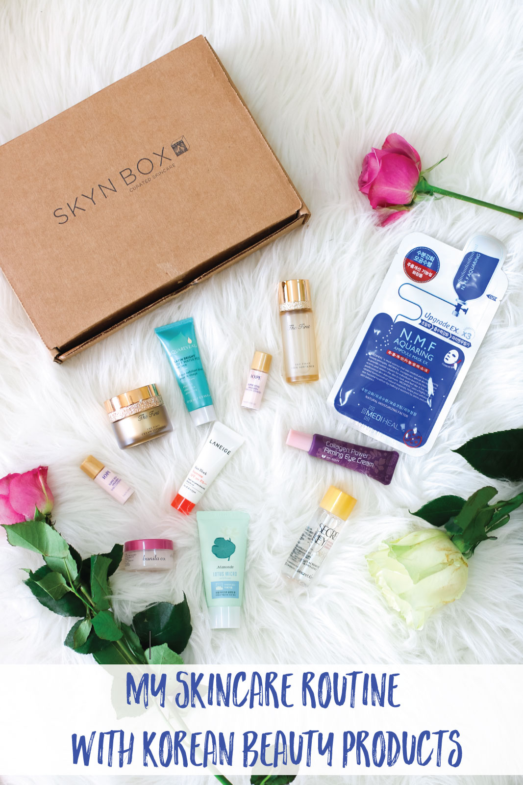 My Korean Skincare Routine with SKYN BOX by Utah fashion blogger Sandy A La Mode