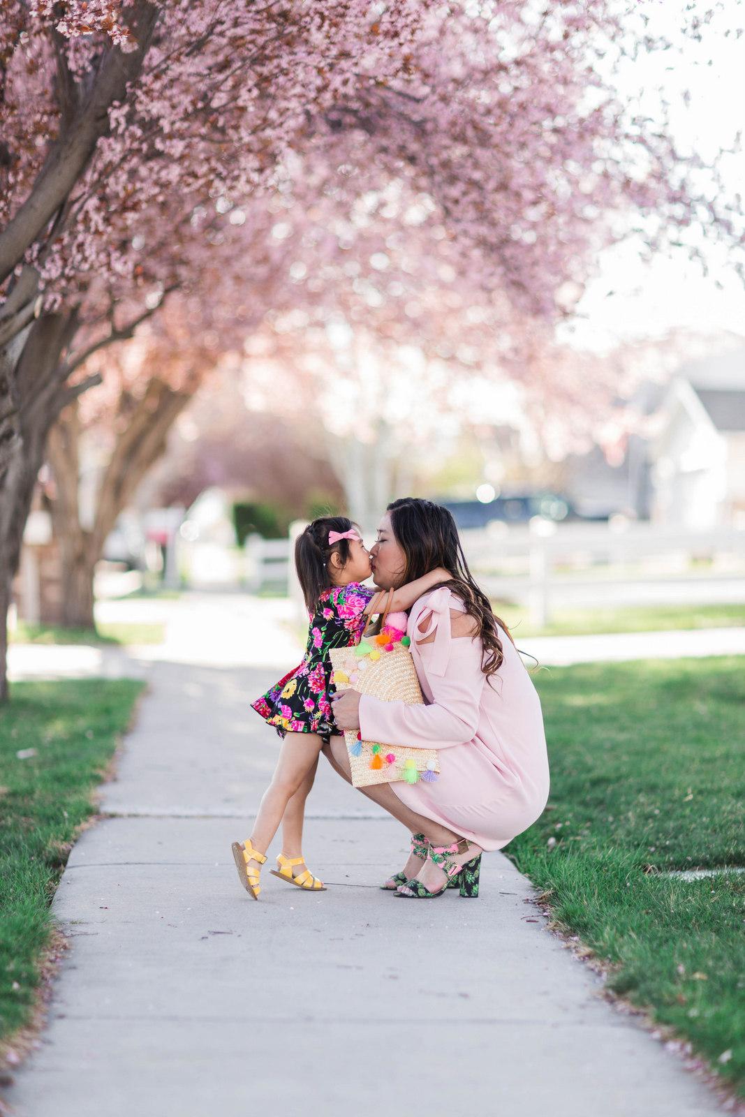 Little Minis floral dress